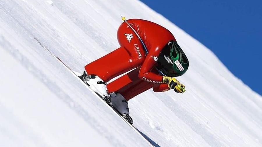 Origone, l'highlander della velocità sugli sci