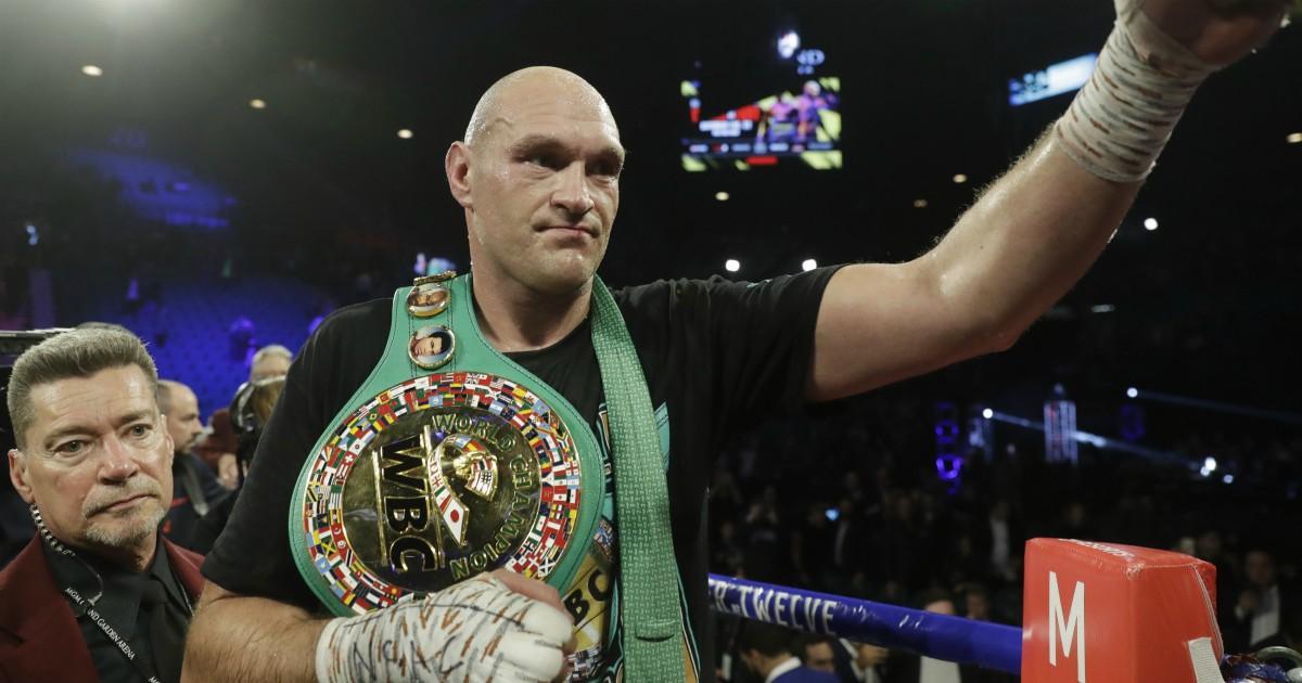 Boxe: un agricoltore accusa Fury di frode sul doping