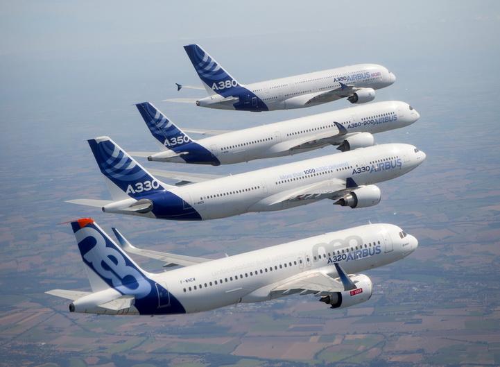 Ordini di aerei in picchiata? L'Airbus stampa in 3D visiere protettive per ospedali