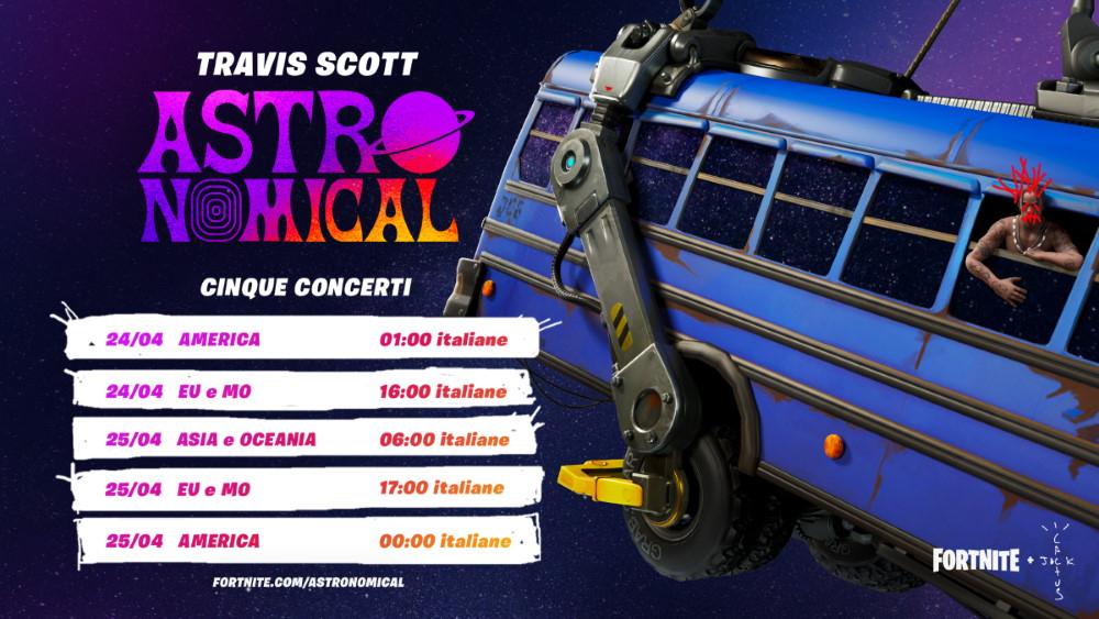 Esce la nuova canzone di Travis Scott in partnership con il gioco Fortnite