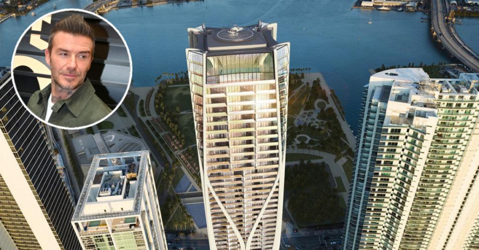 Beckham acquista a Miami un attico da 20 milioni di dollari