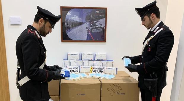 Coronavirus: i Carabinieri scovano 14mila falsi prodotti igienizzanti