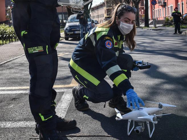 Il Comune di Torino usa i droni per monitorare il rispetto della quarantena