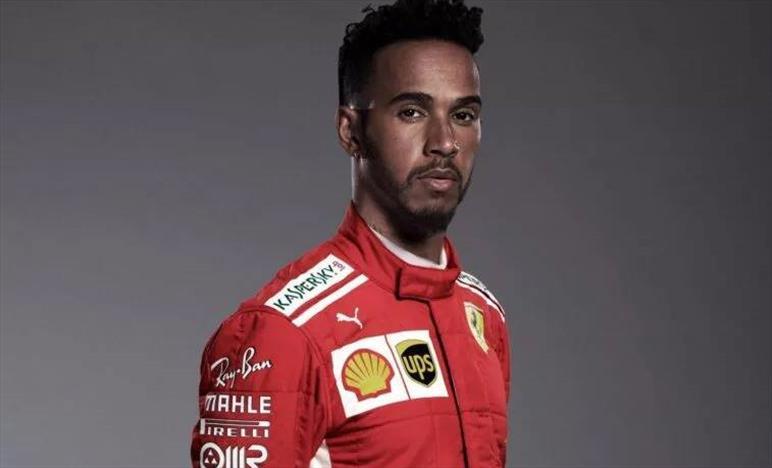 Hamilton gela la Ferrari ma lancia un messaggio d'amore per l'Italia