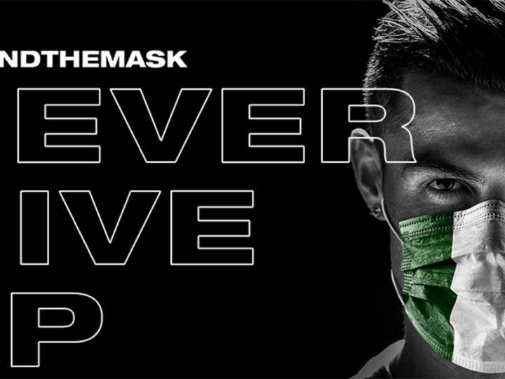 Da Ronaldo alla Pellegrini: lo sport si mobilita con la maschera triclore di Lapo