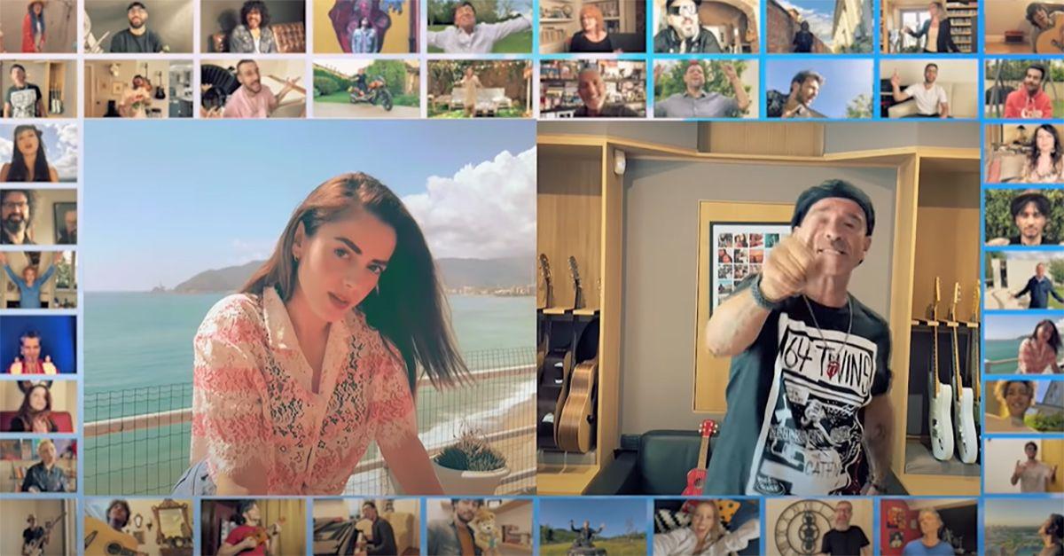 """Esce """"Ma il cielo è sempre più Blu"""": gli artisti italiani a sostegno della Croce Rossa"""