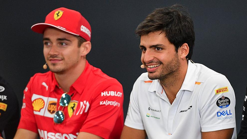 Formula 1: Sainz con Leclerc, la Ferrari punta sui giovani
