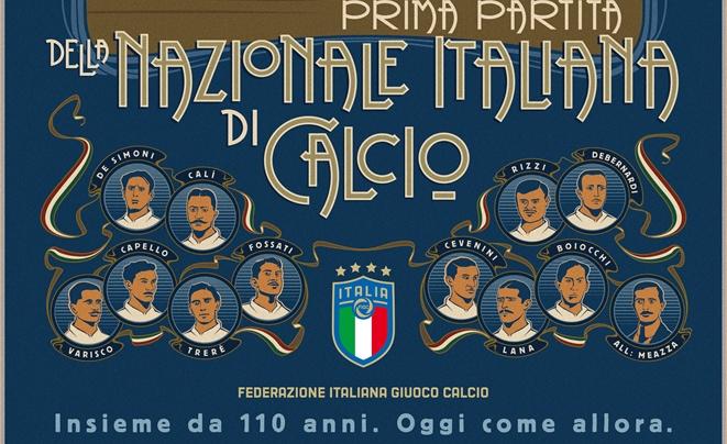 La Nazionale compie 110: «Il simbolo di un'Italia che sa rialzarsi»