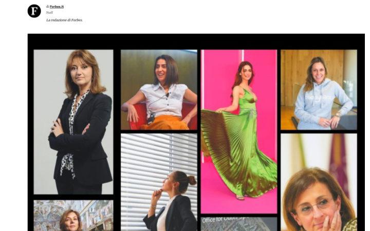 Le donne italiane di successo dell'anno per Forbes si confrontano di creatività e leadership