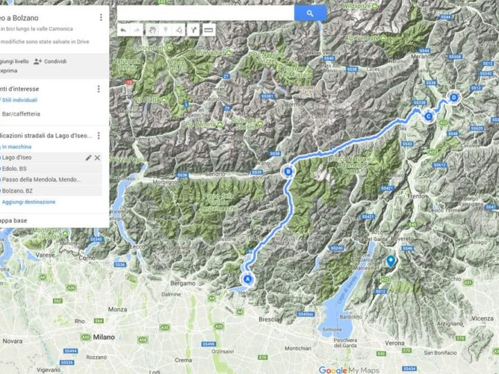 Arriva la mappa dei sentieri più belli per gli amanti del trekking