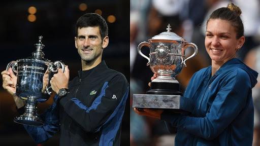 Djokovic e la Halep conquistano gli Internazionali di tennis di Roma