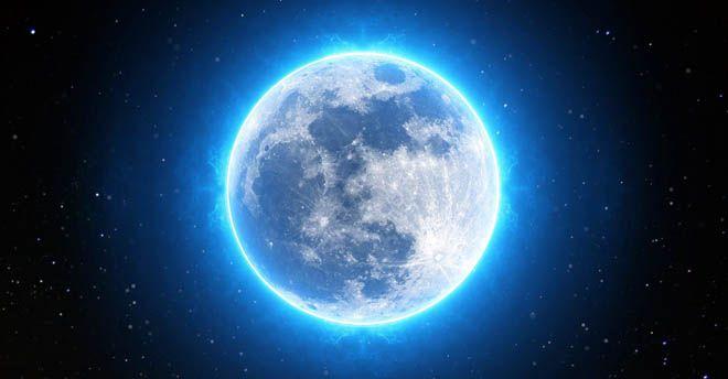 La Luna Blu e Marte, che spettacolo nel cielo di ottobre