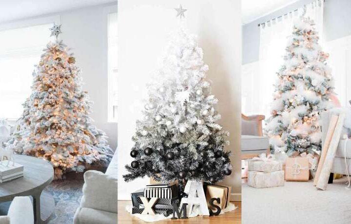 Albero di Natale: quest'anno va il bianco