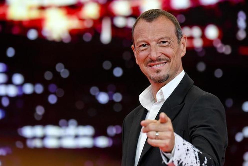 Sanremo, Amadeus lavora per un Festival in presenza