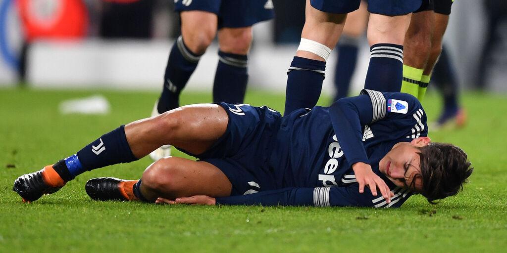 Dybala si ferma per 15-20 giorni: lesione al ginocchio