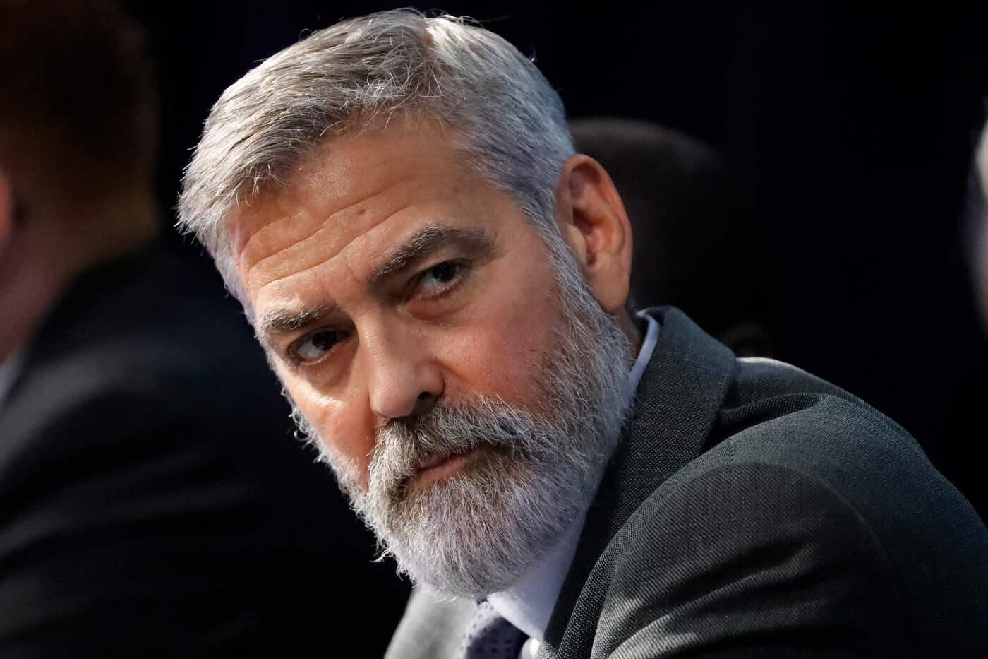 George Clooney: «Trump nella pattumiera della storia»