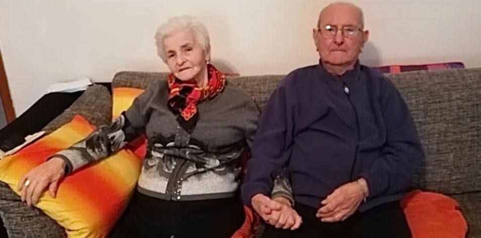 Ivo e Livia tornano a casa : battuto il Covid mano nella mano