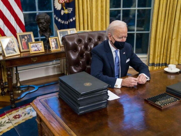 Joe Biden lancia la sfida «Vaccino, economia e razzismo»