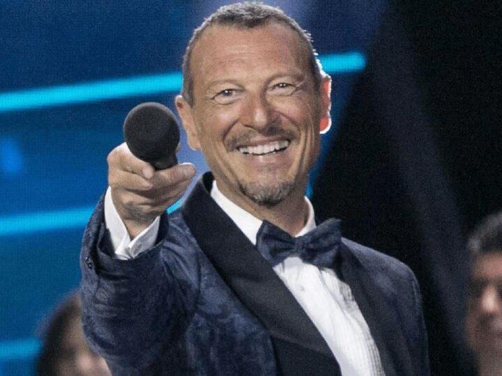 Sanremo: Amadeus resta ma scoppia il caso Fedez